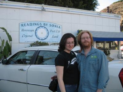 Jenn and Kevin in Malibu
